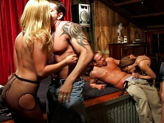Group sex cunt pounding fun