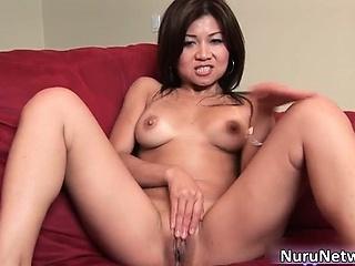 Amazing hot brunette asian..