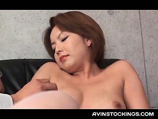 Japanese erotic mom in..