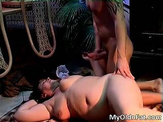 Sexy murk MILF gets fucked..
