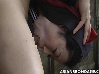 Cute Japanese schoolgirl..
