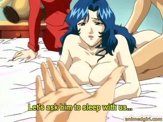 Japanese hentai mom hard..