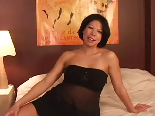 Asian Milf Plays With The..