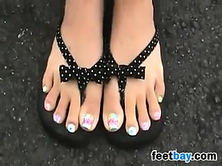 Asian Girls Preety Feet And..