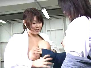 Busty young Asian lesbians..