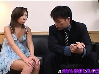 Saku is filled alongside cum