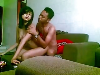 indonesian girl fucked  on..