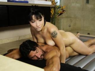 Hot masseuse Rina Ellis..