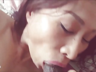 Asian sex-mad milf orgasm..