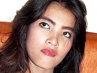 Motionless Asian Cutie..