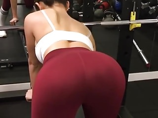 hot korean girl working out