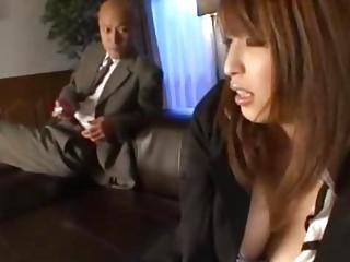 Secretary With Tied Arms..