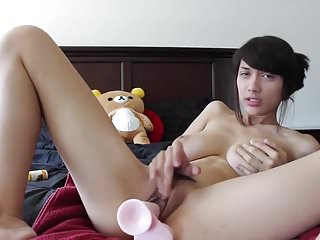 adorable asian teen JOI 2