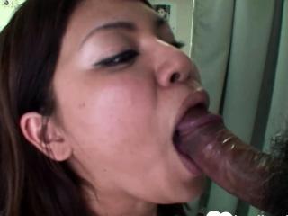 Prex brunette Asian gets..