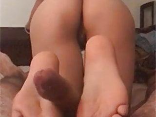 chinese girl footjob