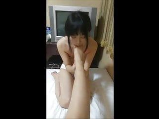 chinese mistress gets her..