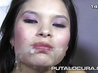 PUTA LOCURA Bukkake with..