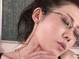 Horny Japanese crammer fucks..