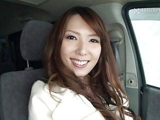 Yui Hatano Deepthroats Cock..