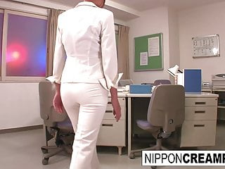 Young new office intern gets..