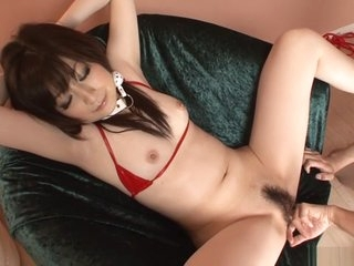 Risible Japanese chick Asuka..