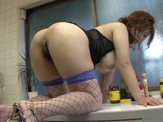 Alarming Japanese girl Naho..