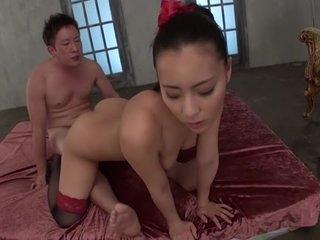Hottest Japanese whore Ren..