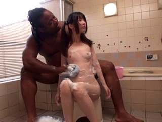 Exotic Japanese slut anent..