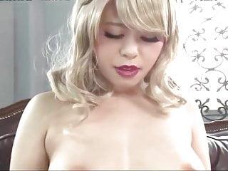 Asian Girl Inserts Vibrators..