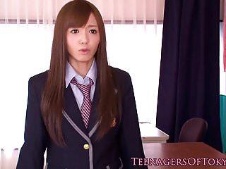 Nippon teen schoolgirl..