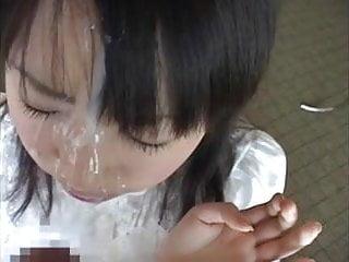 Japanese babyhood facial..