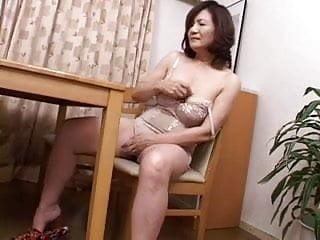 masturbating japanese gran..