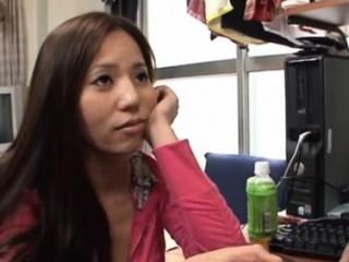 Enchanting busty asian girl..