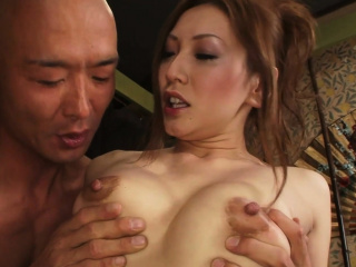 Erotic Asian mating ends..