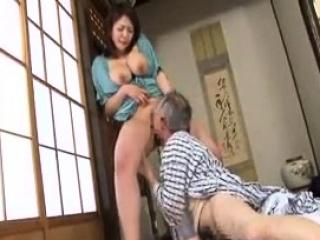 Tiny domineer Japanese wife..