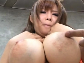Arousing tugjob together in..