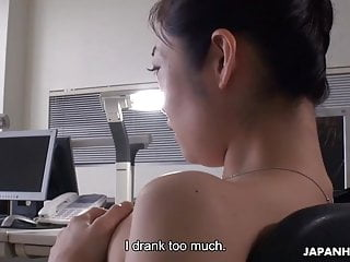 Japanese office lady, Ryu..