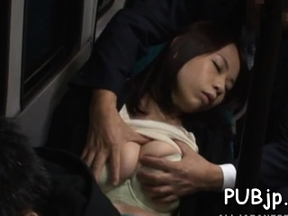 Asian Momo Ogura with..