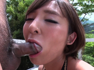 Japanese brunette, Runa..