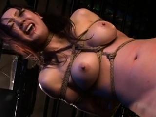 Japanese BDSM Bosomy slave..