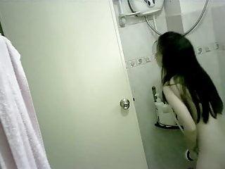 Tiny Chinese Teen Bathing..