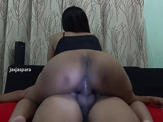 Malaysian wife rides her hubby