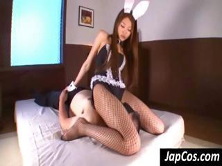Bunny vestment wearing..