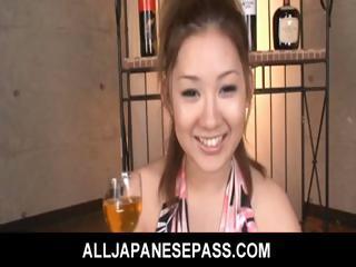 Karin Tsubaki Asian cut up..