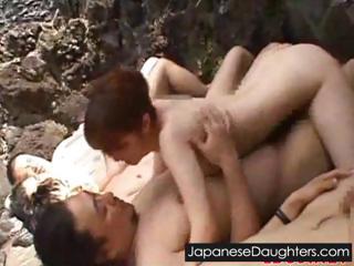 Japanese outdoor sex