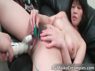 Big boobed horny asian whore..