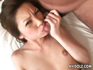Hairy pussy Asahi Miura..