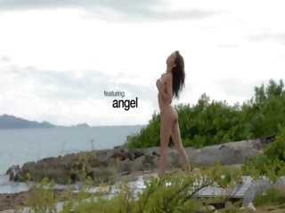 korean angel teasing..