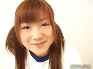 Japenese redhead with perky..