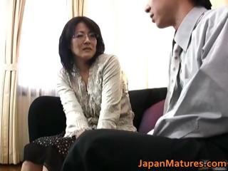 Mature real asian woman..